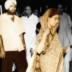 History with Smt. Indira